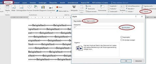 How to insert and dynamically update Excel spreadsheets in Word