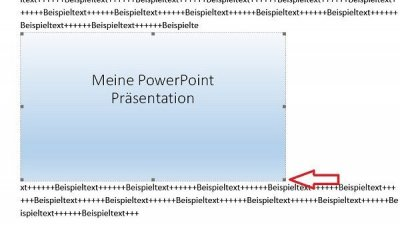 Adjust PowerPoint size