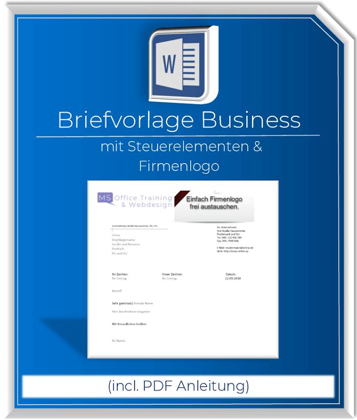 Geschäftsbriefvorlage