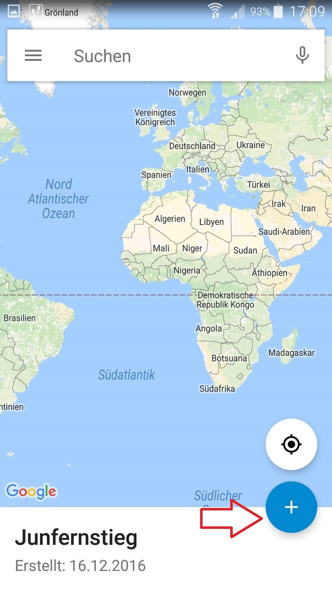 Google My Maps neue Karte erstellen