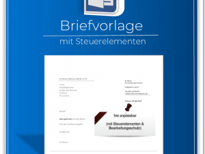 Word Briefvorlage Mit Steuerelementen Zum Download