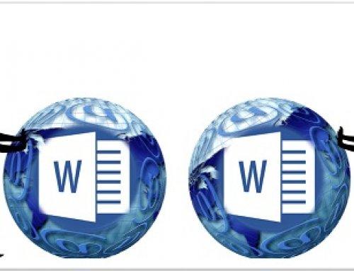 Seiten in einem Word Dokument frustfrei verschieben
