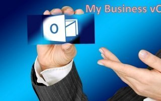 vCard mit Businessfoto in Outlook erstellen