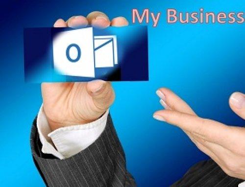 Digitale Visitenkarten mit Outlook erstellen.
