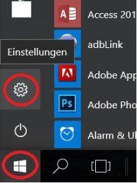 Call Windows 10 Settings