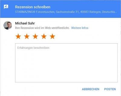Write a Google review