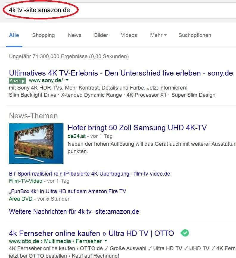 Google Suche Seiten ausschliessen_2