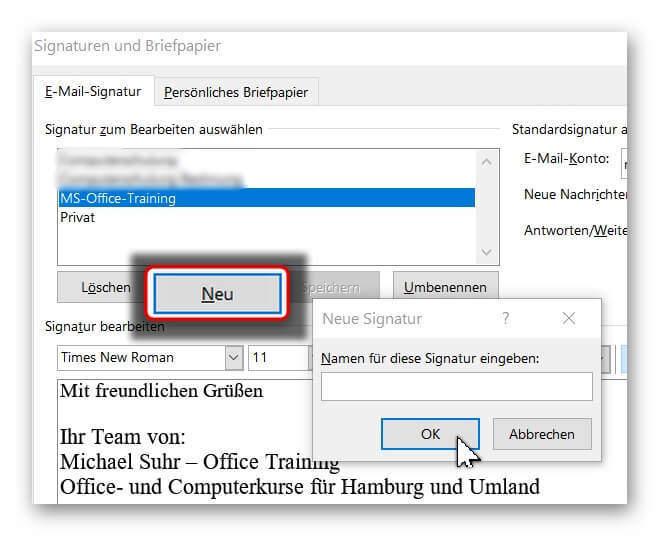 Outlook-Signatur-Name-vergeben