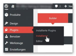 WP Plugins installieren