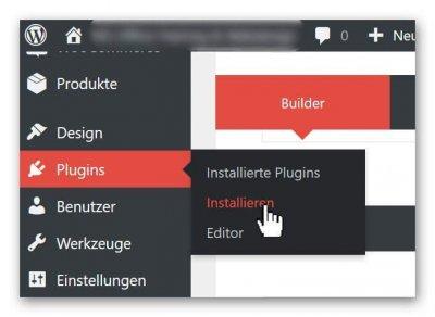 WP-install plugins