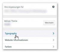 WP Typografie