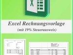 Excel Rechnungsvorlage mit Steuerberechnung