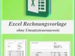 Excel Rechnungsvorlage Kleinunternehmer