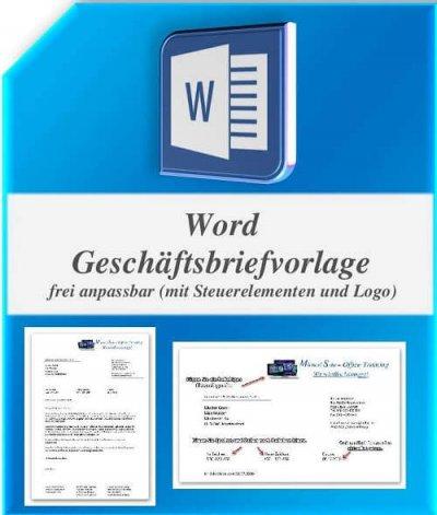 Word Geschäftsbriefvorlage