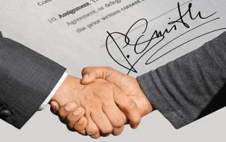 Dokumente digital unterschreiben