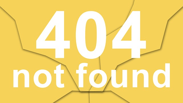Fehler 404 beheben