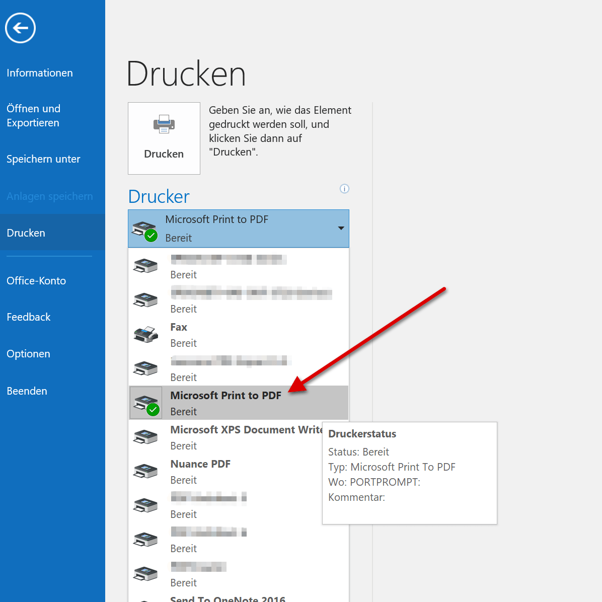 2. Microsoft Print to PDF