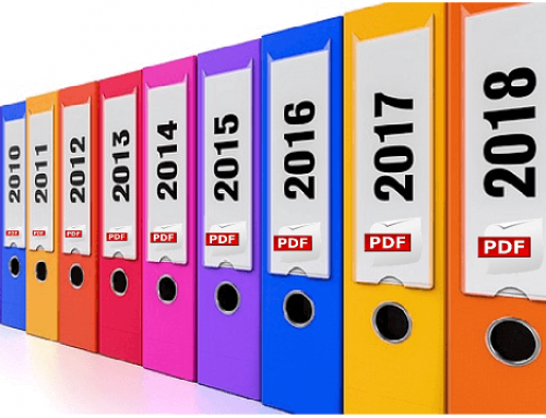 Archive Outlook E-Mails as PDF
