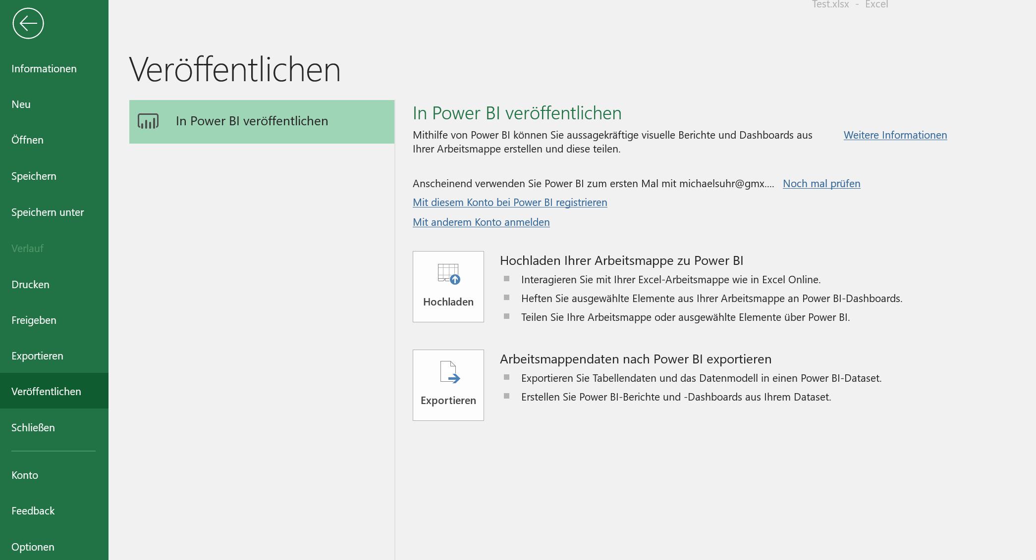 Excel 2019 Optionen - Ansicht 5