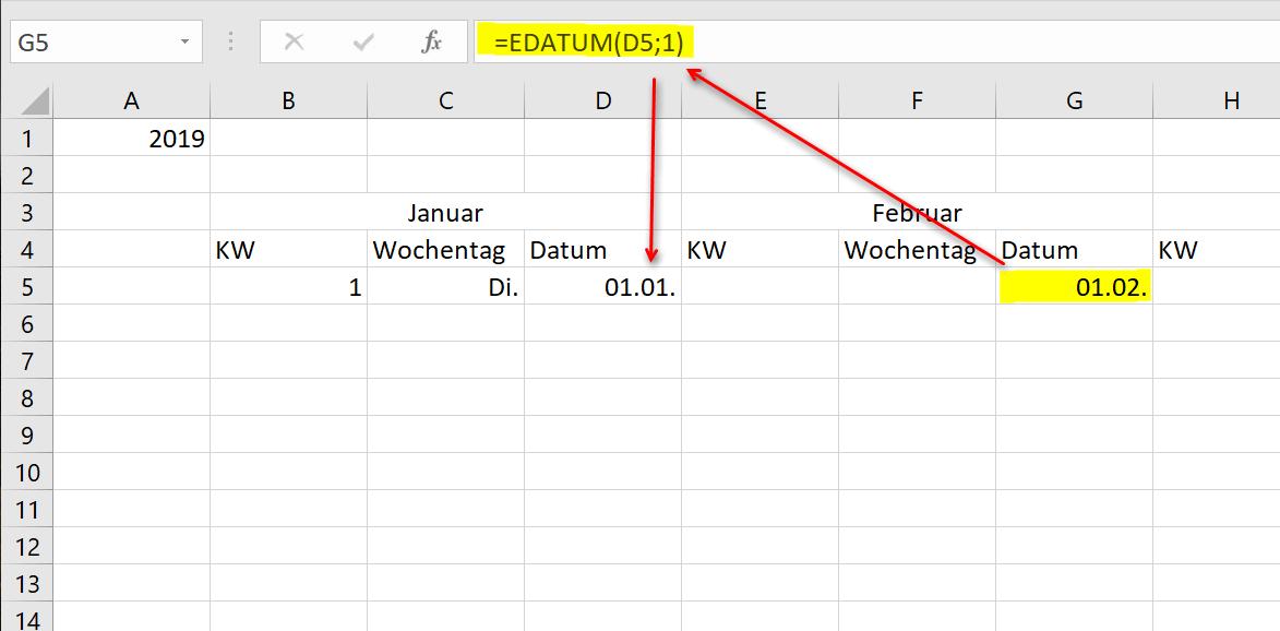 Excel Kalender 2019 Pic6