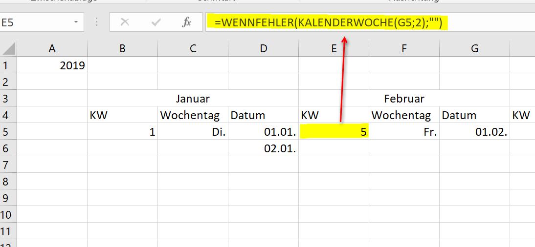 Excel Kalender 2019 Pic7
