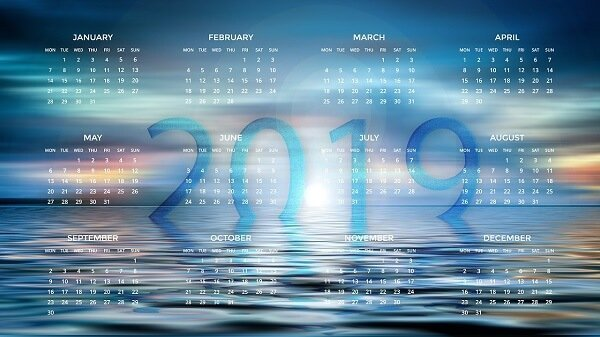 Create dynamic calendar 2019 with Excel