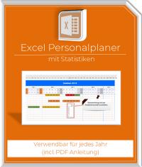 Excel Personalplaner mit Resturlaub