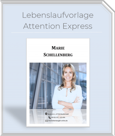 Lebenslaufvorlage - Attention Express