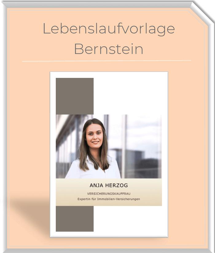 Lebenslaufvorlage - Bernstein