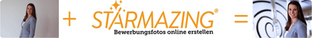 Starmazing - Bewerbungsfotos online erstellen