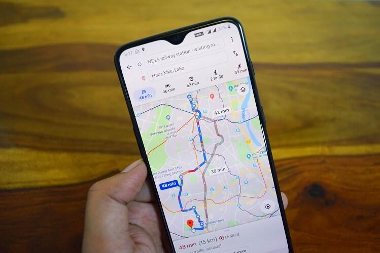 New features in Google Maps