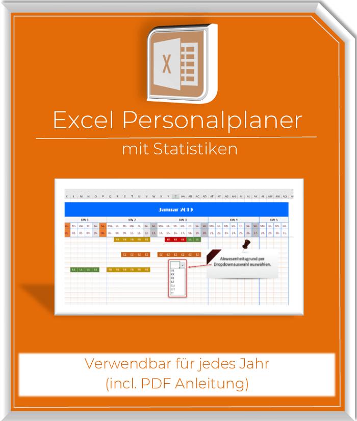 Excel Personalplaner 2020