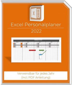 Excel Personalplaner-Schichtplaner 2022