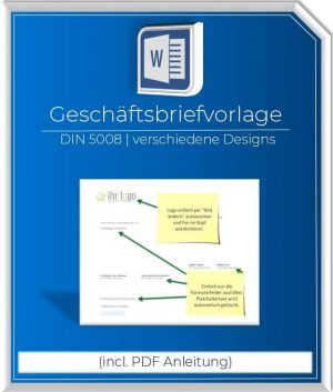 Produktbild Geschaeftsbriefvorlage DIN5008