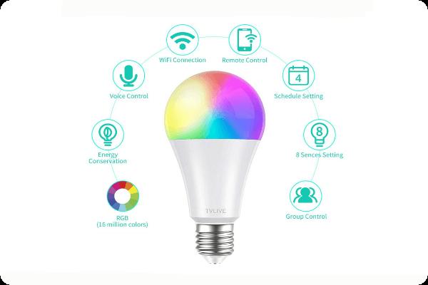 Bestseller WLAN-LED-Gluehlampen