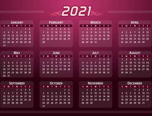 Create Excel annual calendar 2021 with calendar week and public holidays