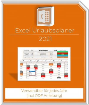 Excel Urlaubsplaner 2021