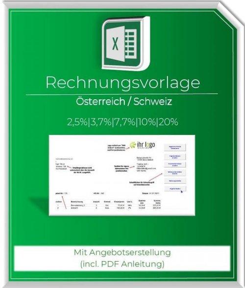 Rechnungsvorlage Oesterreich-Schweiz