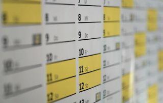 Urlaubsplaner 2022 in Excel erstellen